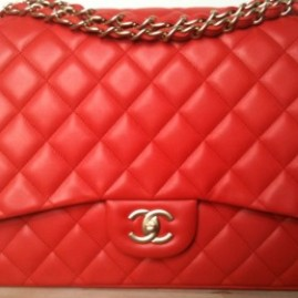 chanel-orange-red-classic-flap-maxi-bag-2010-280x325